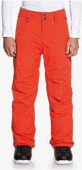 Quiksilver Estate Youth PT snowboardové kalhoty červená