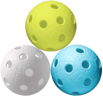 Unihoc  Ball Crater 3-packFlorbalové míce neutrální