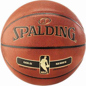 Spalding NBA Gold IN & OUT Basketbal.míč oranžová