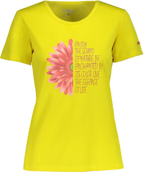 CMP  Woman Dám.tričkoDry Function Dámské žlutá