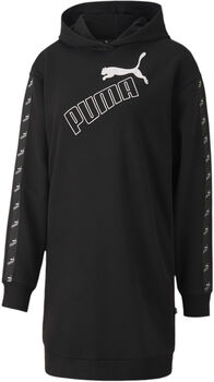 Puma Amplified Hooded DrEssential Dámské černá