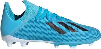 adidas X 19.3 FG J modrá