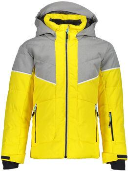 CMP Girl Jacket Fix Hood lyžařská bunda žlutá