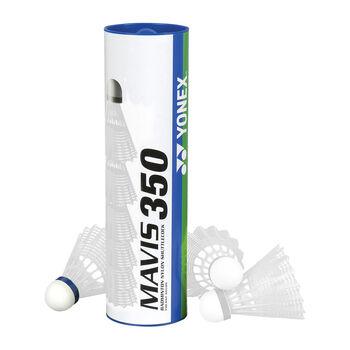 Yonex Mavis 350 badmintonové míčky bílá