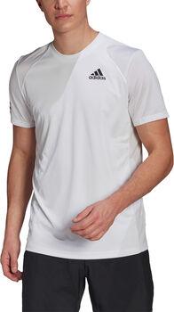 adidas Club 3STR tričko na tenis Pánské bílá