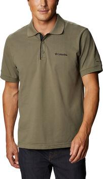 Columbia Cascade Range Solid outdoorové tričko Pánské zelená
