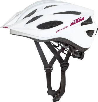KTM Factory Line cyklistická helma Dámské bílá