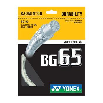 Yonex BG 65 TI bílá