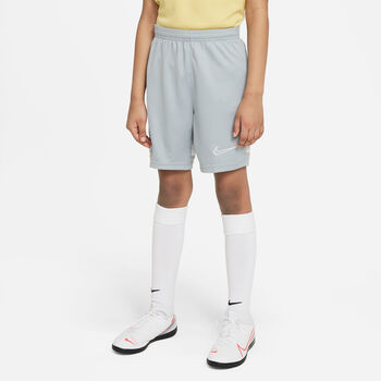 Nike Dri-FIT Academy 21 sportovní kraťasy Chlapecké šedá