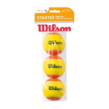 Wilson Starter Game Balls bílá