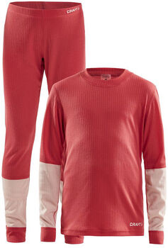 Craft Baselayer Set sada termo prádla růžová