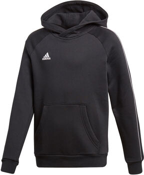 adidas CORE18 HOODY Y Jr černá
