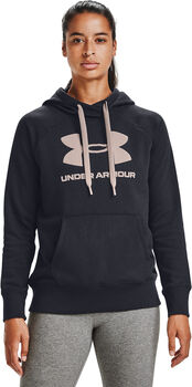 Under Armour Rival Fleece Logo mikina Dámské černá