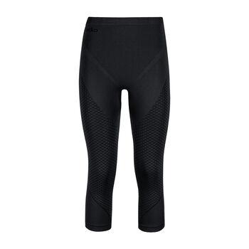 Odlo Evolution Warm 3/4 termo kalhoty Dámské černá
