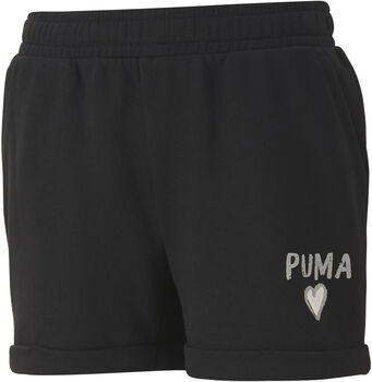 Puma Alpha Shorts G Dívčí černá
