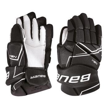 BAUER NSX Jr. hokejové rukavice Pánské černá