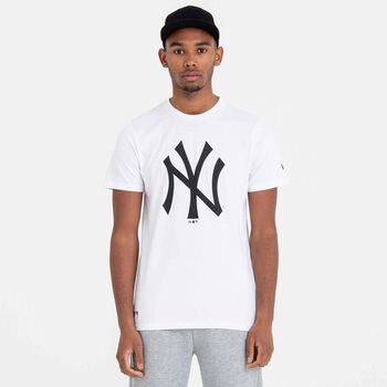 New Era MLB Team Logo tričko Pánské bílá