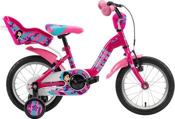 """GENESIS Princessa 14"""" 2020 kolo Dívčí růžová"""