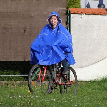 2You Cyklistické poncho Pánské modrá
