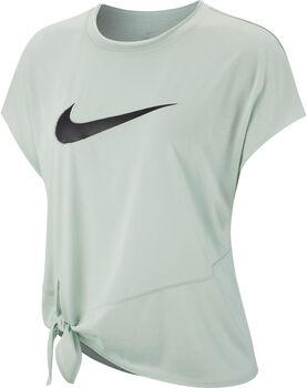 Nike W Nk Dry Side Tie Short Sleeve Dámské
