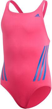adidas SH3.RO Mid 3-Stripes plavky Dívčí růžová