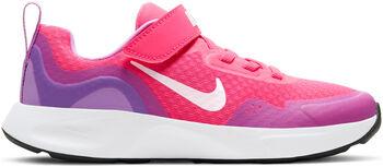 Nike Wear All Day volnočasové boty Chlapecké růžová