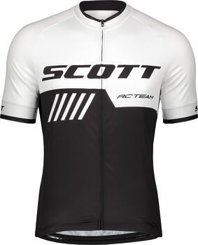 SCOTT RC Team 10 Shirt S/SL M Pánské bílá