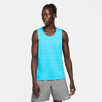 Nike M NK DF MILER tílko Pánské modrá