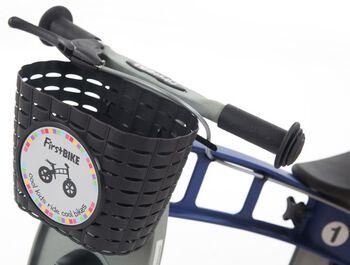 FirstBIKE First Bike Kosík na ridítka   černá