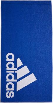 adidas  TOWEL L  modrá