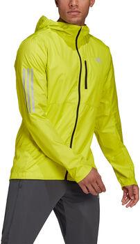 adidas OWN THE RUN JKT běžecká bunda Pánské žlutá