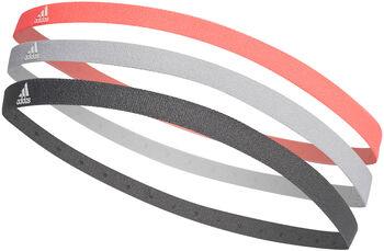 adidas Hairband 3 Pack Pánské růžová
