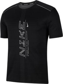 Nike M Nk Dry Miler Short Sleeve PO GX FF Pánské černá