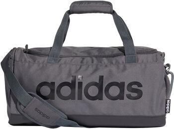 adidas Linear Logo Duffel šedá