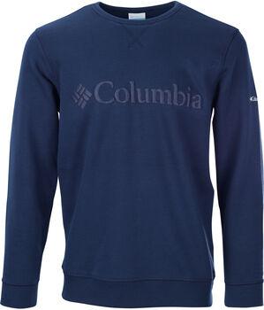 Columbia M Logo Fleece Crew Pánské modrá