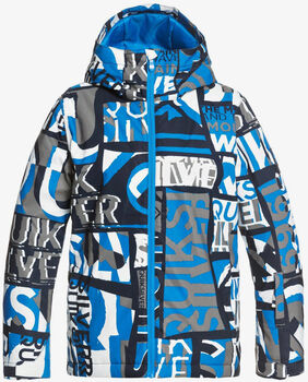 Quiksilver Mission Printed snowboardová bunda  modrá