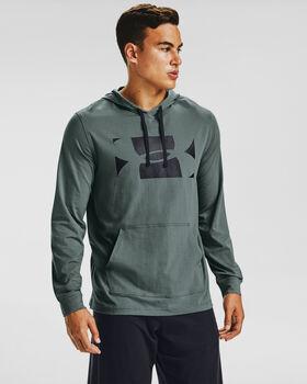 Under Armour Sportstyle Hoodie tréninkové tričko Pánské modrá