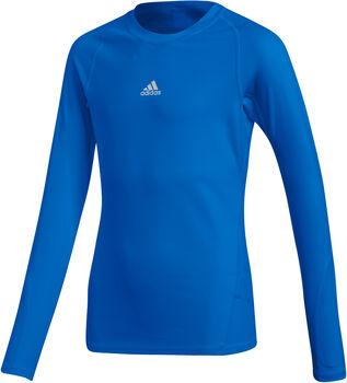 adidas L/S Ask LS Tee Y Chlapecké modrá