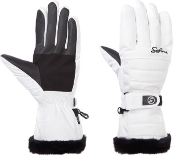 McKINLEY Safine Blair II lyžařské rukavice Dámské bílá