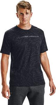 Under Armour Wordmark SS sportovní tričko Pánské černá