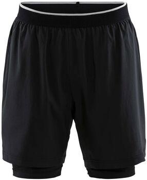 Craft Charge 2-in-1 Shorts M Pánské černá