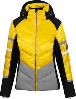 McKINLEY Grace lyžařská bunda Dámské žlutá