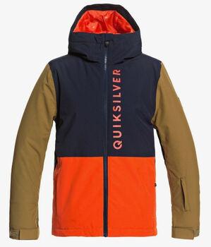 Quiksilver Side Hit Youth snowboardová bunda  oranžová