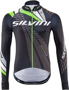 Silvini Team MD1401 cyklistický dres Pánské černá