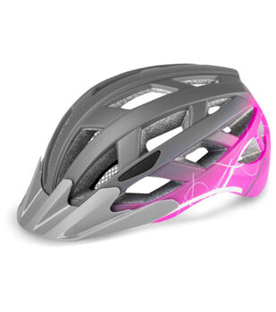 R2 Lumen cyklistická helma fialová