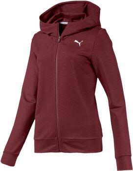 Puma MODERN SPORT Full-Zip Logo W Dámské červená