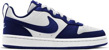 Nike Court Borough Low 2 volnočasové boty Chlapecké bílá