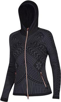 Newland Lady hoody full zip N4 lyžařská mikina Dámské černá