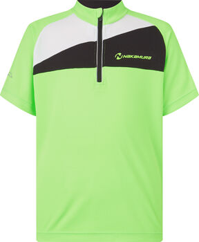 NAKAMURA Pablo cyklistické tričko zelená