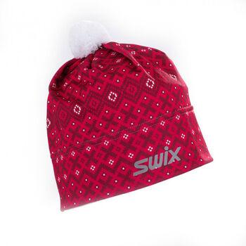 Swix  MyreneBěžk.čepice pro dospělé červená